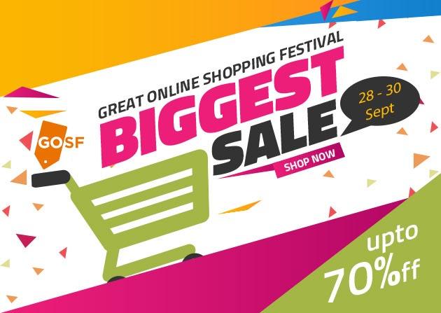 Great Online Shopping Festival 2016