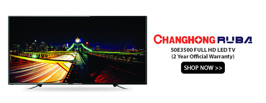 Changhong Ruba 50E3500 FULL HD LED TV (2 Year Official Warranty)