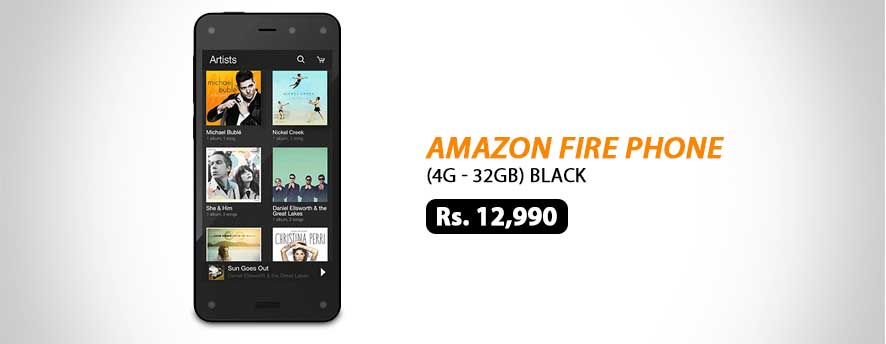 Amazon Fire Phone 4G 32GB Black