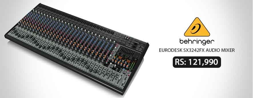 BEHRINGER EURODESK SX3242FX Audio Mixer