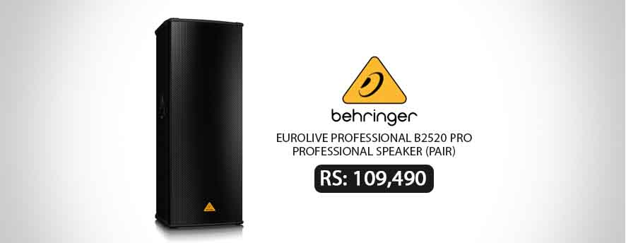BEHRINGER EUROLIVE PROFESSIONAL B2520 PRO Professional Speaker (Pair)