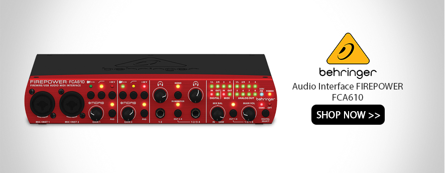 Behringer Audio Interface FIREPOWER FCA610