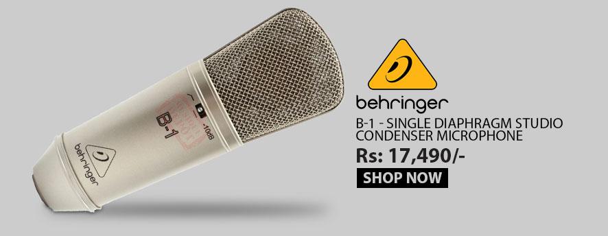 Behringer B-1 - Single Diaphragm Studio Condenser Microphone