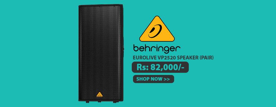 Behringer EUROLIVE VP2520 Speaker (Pair)
