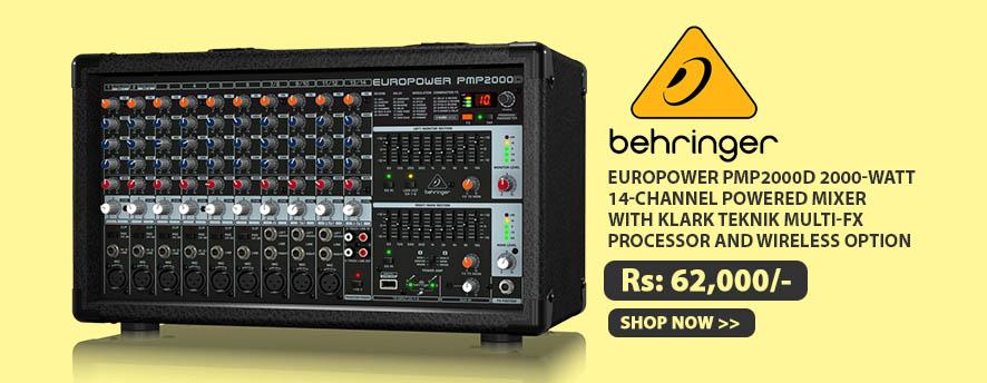 Behringer EUROPOWER PMP2000D
