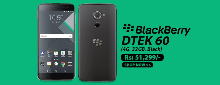 BlackBerry DTEK 60 (4G, 32GB, Black)