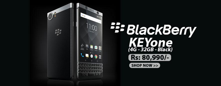 BlackBerry KEYone (4G - 32GB - Black)