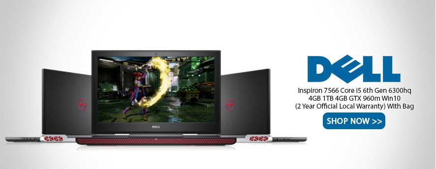 Dell Inspiron 7566 Core i5 6th Gen 6300hq