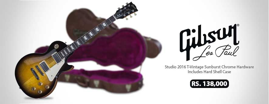 Gibson Les Paul Studio 2016 T-Vintage Sunburst Chrome Hardware