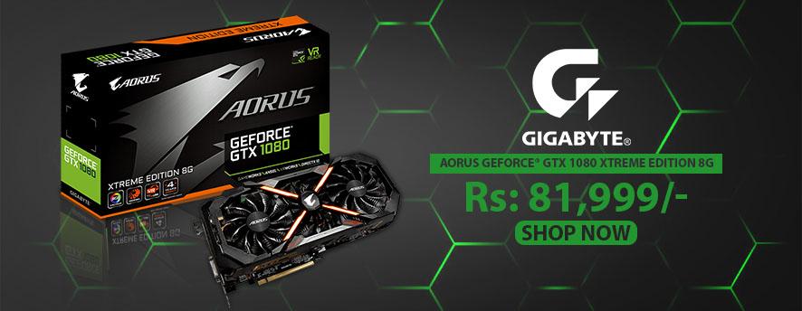 Gigabyte AORUS GeForce® GTX 1080 Xtreme Edition 8G