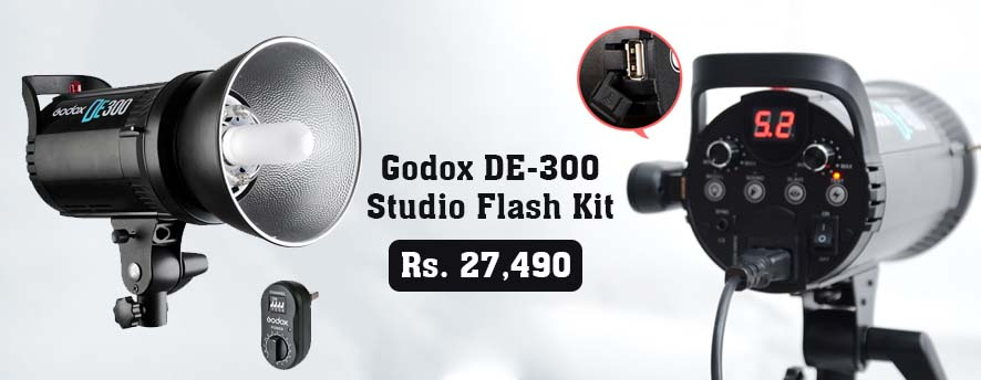 Godox DE 300 studio Flash Kit