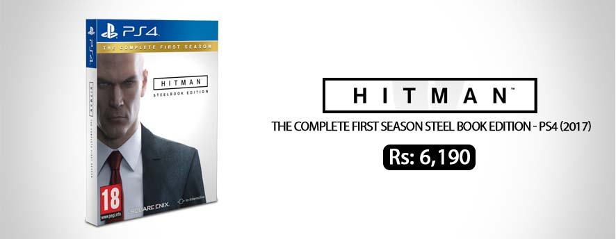 Hitman The Complete First Season Steel Book Edition PS4 2017