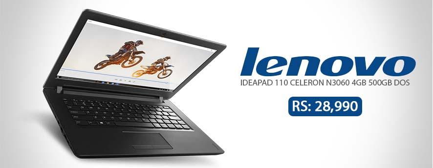 Lenovo IdeaPad 110 Celeron N3060 4GB 500GB DOS