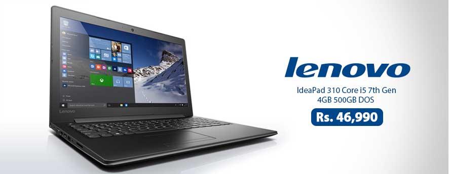 Lenovo IdeaPad 310 Core i5 7th Gen 4GB 500GB DOS
