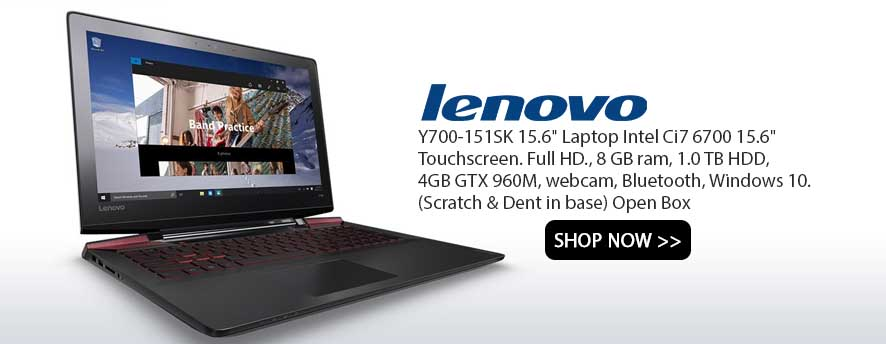 Lenovo Y700-151SK 15.6 Laptop Intel Ci7 6700 15.6 Touchscreen