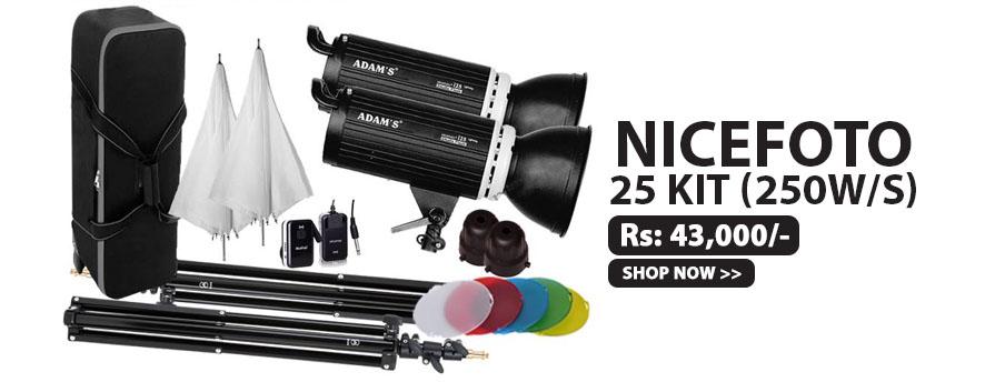 Nicefoto i25 Kit (250w/s)