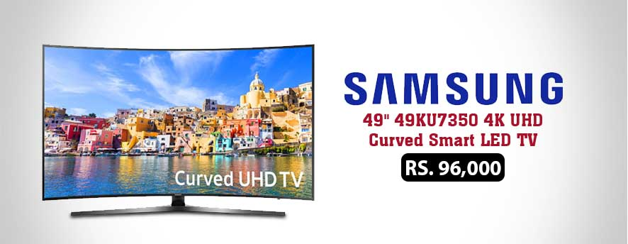 Samsung 49 49KU7350 4K UHD Curved Smart LED TV