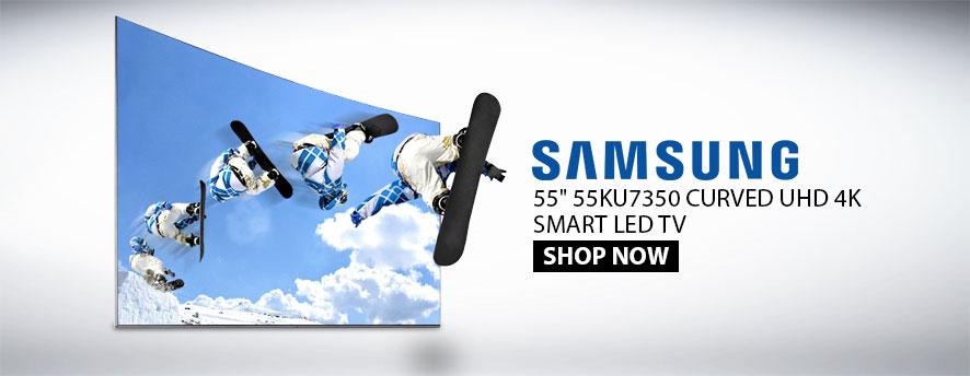 Samsung 55 55KU7350 CURVED UHD 4K SMART LED TV