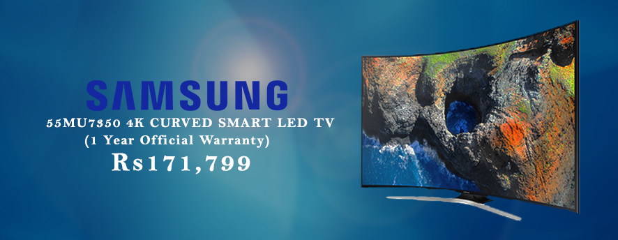 Samsung 55 55MU7350 4K CURVED SMART LED