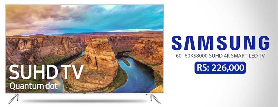 Samsung 60 60KS8000 SUHD 4K SMART LED TV