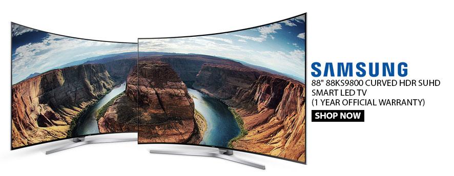 Samsung 88 88KS9800 CURVED HDR SUHD SMART LED TV