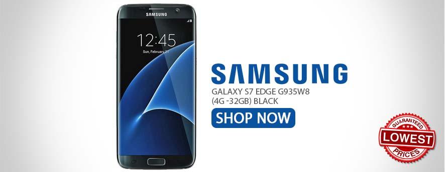 Samsung Galaxy S7 Edge G935W8 (4G -32GB) Black