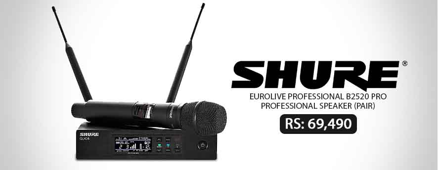 Shure QLX D KSM9 Wireless Microphone System