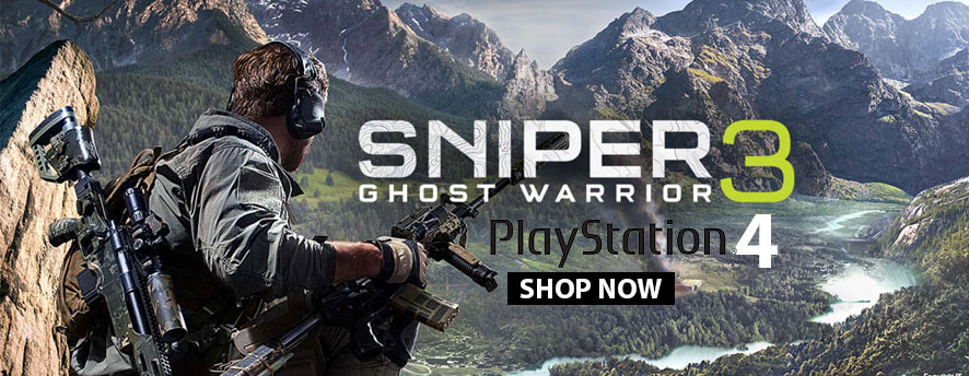 Sniper Ghost Warrior 3 - PS4