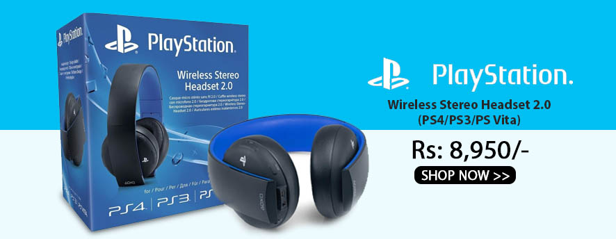 Sony PlayStation Wireless Stereo Headset 2.0 (PS4/PS3/PS Vita)