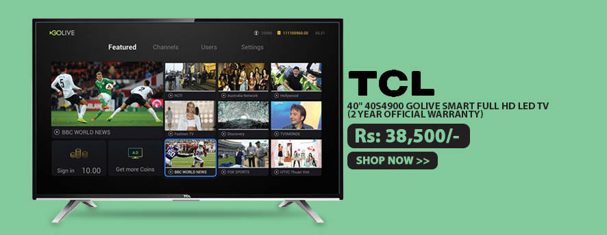 TCL 40 40S4900 GoLive Smart FULL HD LED TV (2 Year Official Warranty)