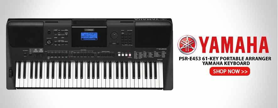 Yamaha PSR-E453 61-key Portable Arranger - Yamaha Keyboard