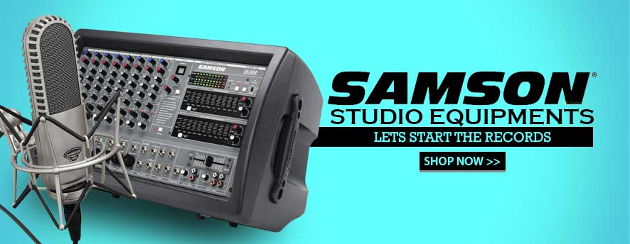 Samson Stusio Equipments